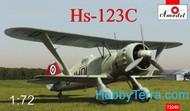 A Model Poland  1/72 Henschel Hs123C Dive Bomber (D)<!-- _Disc_ --> AMZ72248