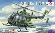 A-Model Poland  1/72 MBB Bo105P Military Helicopter AMZ72259