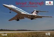 A Model Poland  1/72 Tu134UBL NATO Code Crusty-B Soviet Aircraft (D)<!-- _Disc_ --> AMZ72268