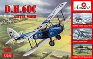A Model Poland  1/72 DH60C Cirrus Moth 2-Seater Biplane (D)<!-- _Disc_ --> AMZ72280