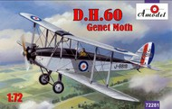 A Model Poland  1/72 DH60 Genet Moth Biplane (D)<!-- _Disc_ --> AMZ72281