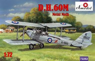 A Model Poland  1/72 DH60M Metal Moth 2-Seater Biplane (D)<!-- _Disc_ --> AMZ72282
