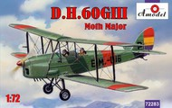 A Model Poland  1/72 DH60G III Moth Major 2-Seater Biplane (D)<!-- _Disc_ --> AMZ72283