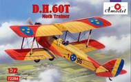 A Model Poland  1/72 DH60T Moth Trainer 2-Seater Biplane (D)<!-- _Disc_ --> AMZ72284