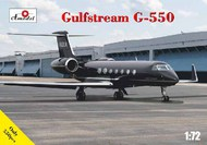 A Model Poland  1/72 G-550 Gulfstream Business Jet Airliner AMZ72361