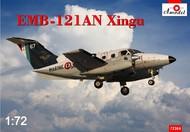 A Model Poland  1/72 EMB121AN Xingu French Navy Twin-Turboprop Aircraft AMZ72364