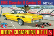 AMT/ERTL  1/25 1968 El Camino SS Derby Champion Race Car w/Soap Box Derby Car AMT1018