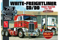 AMT/ERTL  1/25 White Freightliner SD/DD Tractor Cab 75th Anniversary (2 in 1) AMT1046