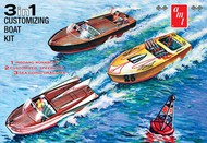 AMT/ERTL  1/25 Customizing Boat w/Trailer (3 in 1)- Net Pricing AMT1056