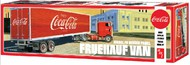 AMT/ERTL  1/25 Fruehauf Beaded Coca-Cola Van Semi-Trailer AMT1109