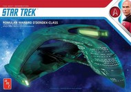 Star Trek Romulan Warbird Battle Cruiser #AMT1125