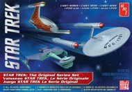 AMT/ERTL  1/2500 Star Trek The Original Series Set (3 Snap Kits) AMT763