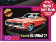 AMT/ERTL  1/25 1969 Cougar Eliminator Car (White) AMT898