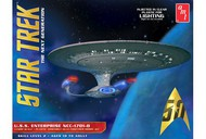 AMT/ERTL  1/1400 Star Trek USS Enterprise NCC1701D Clear Edition AMT955