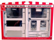 AMT/ERTL  1/25 1969 Mercury Chrome-Plated Sleeper Kit for Big Rig Tractor Cabs (D)<!-- _Disc_ --> AMTPP12