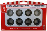 AMT/ERTL  1/25 Muscle Car Red Line Tire Pack (4ea of 2 Diff) AMTPP13