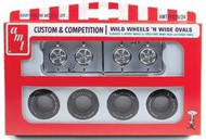 AMT/ERTL  1/25 Wild Wheels & Wide Ovals Tire Pack (4ea) AMTPP20