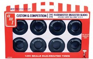 AMT/ERTL  1/25 M&H Racemasters Super Tall & Wide Dragster Slicks Tire Pack (8) AMTPP3