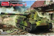 Amusing Hobby  1/35 WW II Project: PzKpw Panther II German Tank AUH35A018