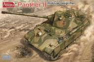 Amusing Hobby  1/35 WW II Project: Panther II Prototype Design Plan - Pre-Order Item AUH35A012