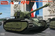 Amusing Hobby  1/35 ARL-44 French Heavy Tank - Pre-Order Item AUH35A025