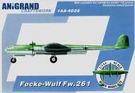 Anigrand Craftswork  1/144 Focke-Wulf Fw.261 ANIG4026