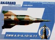 Anigrand Craftswork  1/144 EMW A-9/A-10/A-11 Luftwaffe ballistic missile ANIG4034
