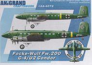 Anigrand Craftswork  1/144 Focke-Wulf Fw.200C-4/U-1 Condor ANIG4072