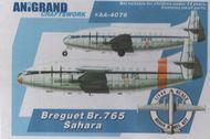 Anigrand Craftswork  1/144 Breguet Br.765 Sahara Military freighter version of Deux-Ponts ANIG4076