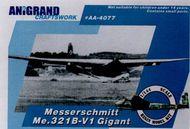 Anigrand Craftswork  1/144 Messerschmitt Me.321 Gigant ANIG4077