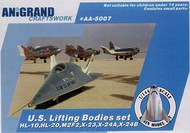 Anigrand Craftswork  1/144 Lifting bodies set ANIG5007