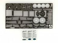 Aoshima  1/24 Pagani Huayra Italian Sports Car Photo-Etch Detail-Up Parts AOS10921