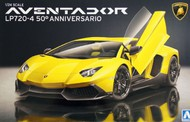 Aoshima  1/35 1/24 Lamborghini Aventador LP720-4 50th Anniversary Sports Car AOS11522