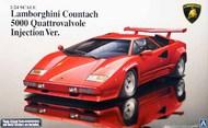Aoshima  1/24 Lamborghini Countach 5000QV Injection Sports Car AOS11546