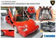 Aoshima  1/24 Lamborghini Countach 5000QV 88 Sports Car AOS11553