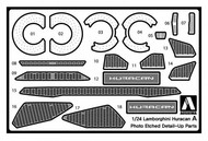 Aoshima  1/24 Lamborghini Huracan LP610-Photo-Etched Detail Parts AOS17135