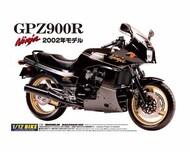 Aoshima  1/12 2002 Kawasaki GPZ900R Ninja Motorcycle AOS42878