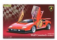 Aoshima  1/24 Lamborghini Wolf Countach Sports Car AOS49600