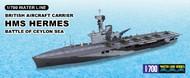 Aoshima  1/700 HMS Hermes Aircraft Carrier Battle of Ceylon Sea AOS51009