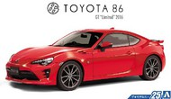 Aoshima  1/24 2016 Toyota 86 GT Limited 2-Door Car AOS51801