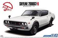 Aoshima  1/24 1973 Nissan Skyline HT 2000GT-R 2-Door Car AOS52129