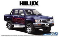 Aoshima  1/24 1994 Toyota Hilux Double Cab 4WD Pickup Truck - Pre-Order Item AOS52280