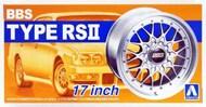 Aoshima  1/24 BBS RSII 17 Tire & Wheel Set (4) AOS52419