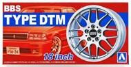 Aoshima  1/24 BBS DTM 18 Tire & Wheel Set (4) AOS52426