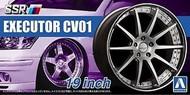 """Aoshima  1/24 SSR Executor CV01 19"""" Tire & Wheel Set (4) AOS52525"""