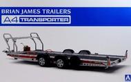 Aoshima  1/24 Brian James A4 Auto Transporter Trailer AOS52600