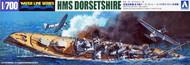 Aoshima  1/700 HMS Dorsetshire Heavy Cruiser Indian Ocean Raid Waterline AOS52662