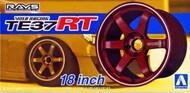 Aoshima  1/24 Volk Racing TE37RT 18 Tire & Wheel Set (4) AOS53027