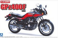 Aoshima  1/12 Kawasaki GPz400F 1984 Model Motorcycle AOS53270
