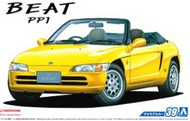Aoshima  1/24 1991 Honda Beat PP1 2-Door Sports Car Convertible, Top Down AOS53393
